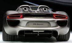 The new Porsche 918 Spyder is displayed at #IAA