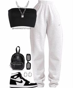 Swag Outfits For Girls, Cute Lazy Outfits, Teen Fashion Outfits, Cute Casual Outfits, Edgy Outfits, Retro Outfits, Clueless Outfits, Teenage Girl Outfits, Summer Outfits