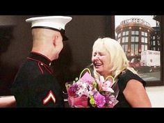 [VIDEO] U.S. Marine Surprises Mom During Staged Work Meeting