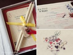 Alice in Wonderland Baby shower invite,when i have kids i want these as my invites!!!!!