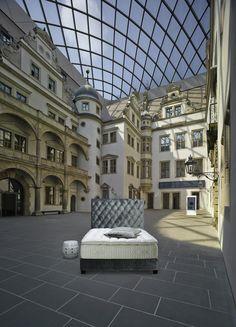 Diamant Headbord, Treca Interiors Paris - Residenz, Dresden - Germany