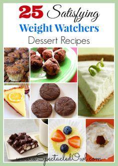 25 Satisfying Weight Watchers Desserts - UPDATED