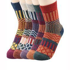 Urban Virgin Women Winter Warm Boot Bombas Socks Ladie Merino Wool Socks For Women Cabin Socks, Merino Wool Socks, Star Cushion, Warm Boots, Women's Boots, Cowboy Boots, Winter Socks, Sport Socks, Women's Socks & Hosiery