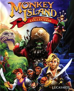 A mashup of the art for each of the first two games' special editions for the Monkey Island Special Edition Collection, which bundled the two together