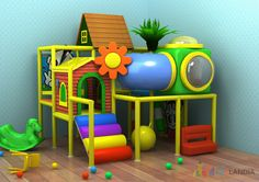 preschool indoor play area