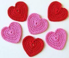 Handige beschrijving om hartjes te haken
