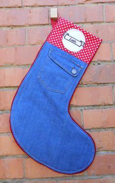 Once - Gorgeous xmas stocking.
