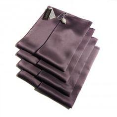 Шёлковое полотенце </br>для лица (32 см х 50 см) </br> Цвет: лиловый