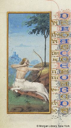 Capricorn | Book of Hours | France, Angers | between 1465 and 1470 | The Morgan Library & Museum