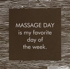 Definitely our favourite day of the week! #massage #favourite #dayspa http://www.ripplemassage.com.au/