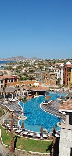 The 150-room Hacienda Encantada Resort is located at the quieter end of the Los Cabos coast.