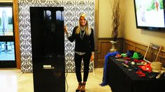 Kirstyn at Crosswinds Golf course working our Photo Booth. www.soundobsession.ca