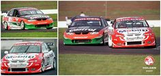 Great V8 Supercar days! The legendary Larry Perkins driving the #11 Castrol Perkins Racing VT while Greg Murphy debuted the #98 VT for the Holden Racing Team.