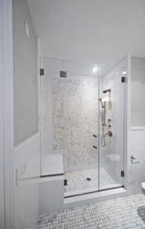 Master Bathroom Double Shower Ideas Master Bathroom Double Shower Ideas Small Master Bathroom Ide Master Bathroom Design Window In Shower Bathroom Design Decor