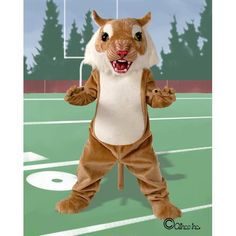$925.00 With the fierce look of the Big Cat Wildcat Mascot Costume you are sure to hear roars of excitement from the crowd. Your teams and fans alike will be thrilled to be represented by your Big Cat Wildcat Mascot Costume. Assemblies, games and pep rallies will be full of energy encouraged by your Big Cat Wildcat Mascot Costume.
