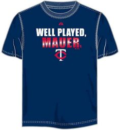 8cbe53e53c Joe Mauer Minnesota Twins
