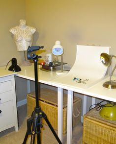 My new photography set up for jewelry :)