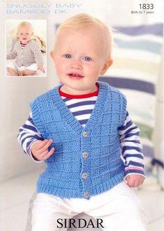 - ÖRGÜLER - #ÖRGÜLER Easy Baby Knitting Patterns, Weaving Patterns, Knitting For Kids, Crochet For Kids, Baby Vest, Baby Cardigan, Crochet Waistcoat, Knit Vest Pattern, Baby Wearing