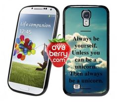 Unicorn Quote Vintage Sky iPhone and Samsung Galaxy Phone Case