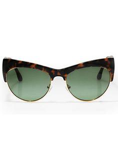Retro cat eye sunglasses / elizabeth + james