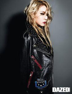 2NE1 CL for Dazed Korea