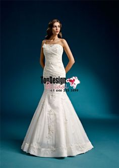2017 Wholesale Vestido De Novia Lace Up Mermaid Appliques Satin Bridal Gown White Sleeveless Wedding Dresses