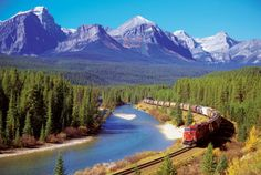Train In The Rockies Posters bij AllPosters.nl