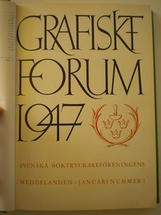 Grafiskt Forum 1947