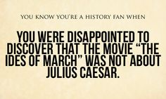You shouldn't be able to use that title without Caesar being involved - at least a little bit.
