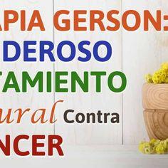 Terapia Gerson: Un Poderoso Tratamiento Natural Contra el Cáncer