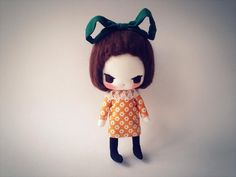 About 13cm tallhands and legs are moveable.*Please note: This listing is for a duplicate version for this doll.