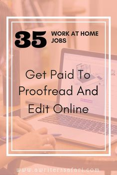 Online editing jobs for college students