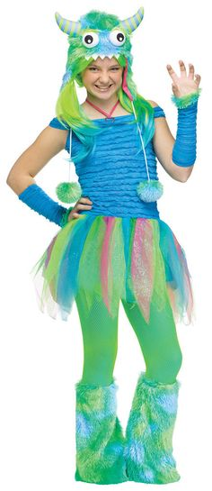 blue beasty teen costume - Halloween Costume Monster