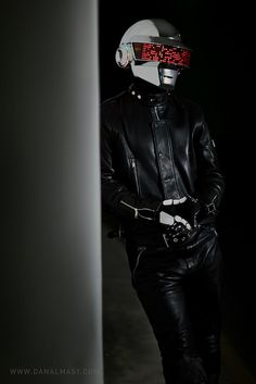 Self made Daft Punk helmet.