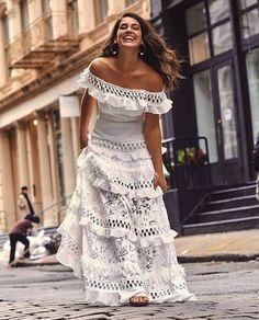 Off Shoulder Solid White Ruffles Short Sleeve Vintage Boho Bohemian Dress Beautiful Dresses, Nice Dresses, Summer Dresses, Dresses Dresses, Wedding Dresses, Ceremony Dresses, Long Dresses, Dresses Online, Boho Outfits