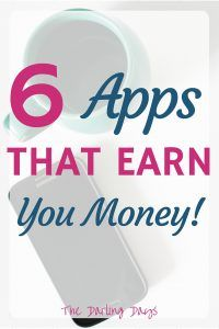 Try these apps that pay you! I had never heard of #6 and #1 earns me so much cash back when shopping!