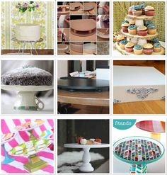 DIY Cupcake Stands Tutorial on Cake Central