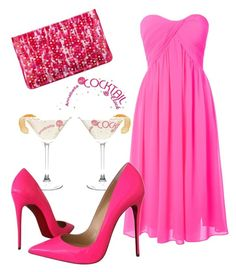 """""""Ladies Night"""" by lulularouche ❤ liked on Polyvore featuring Glamorous and Christian Louboutin"""