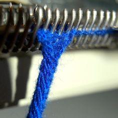 MAKE | High Speed I-Cord on a Knitting Machine