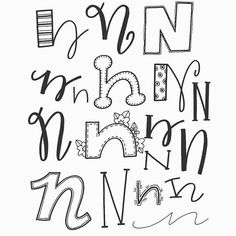 art paint handwriting fonts penmanship letter n letter types fun fonts