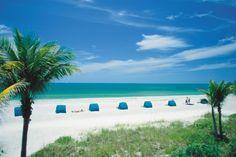 A scenic view of Miami Beach
