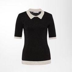 Lurex-Pullover mit Kontrastblenden Hallhuber, Neue Modetrends, Hosen, Neue  Wege, Bekleidung 7e05834b52