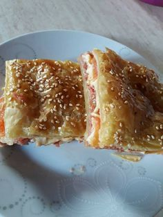 Greek Recipes, Baby Food Recipes, Food Network Recipes, Baking Recipes, Pizza Tarts, The Kitchen Food Network, Quiche, Greek Cooking, Appetizer Dips