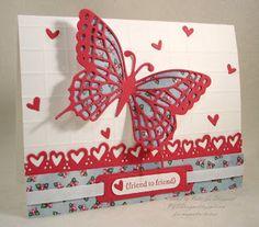 Butterflly card