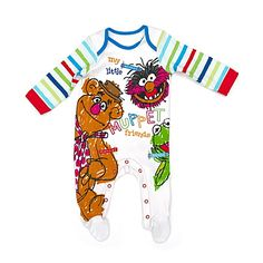 The Muppets Jersey Romper (can be personalised)
