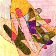 46 super Ideas group art projects for adults activities fun Group Art Projects, Art Projects For Adults, Hand Kunst, Sunday School Crafts, Hand Art, Art Plastique, Art Activities, Elementary Art, Teaching Art