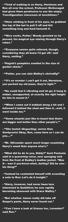Out of Context Harry Potter Quotes.