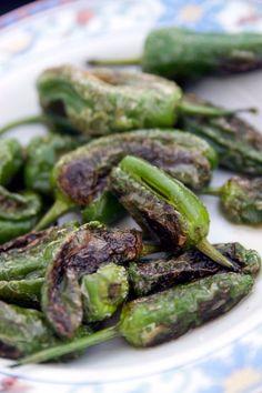 Piementos de Padrón är en av de mest klassiska tapasrätterna. Chilifrukten plockas omogna (ljusgröna) för att de inte skall hinna bli heta (blir röda när de mognar). Trots att majoriteten är...