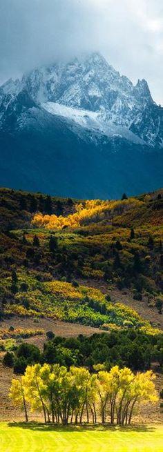Mount Sneffels,  Mount Sneffels Wilderness of the northern San Juan Mountains, Colorado
