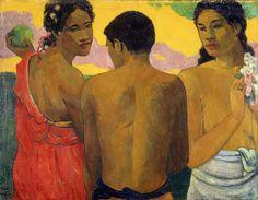 Paul Gauguin: Three Tahitians, 1899